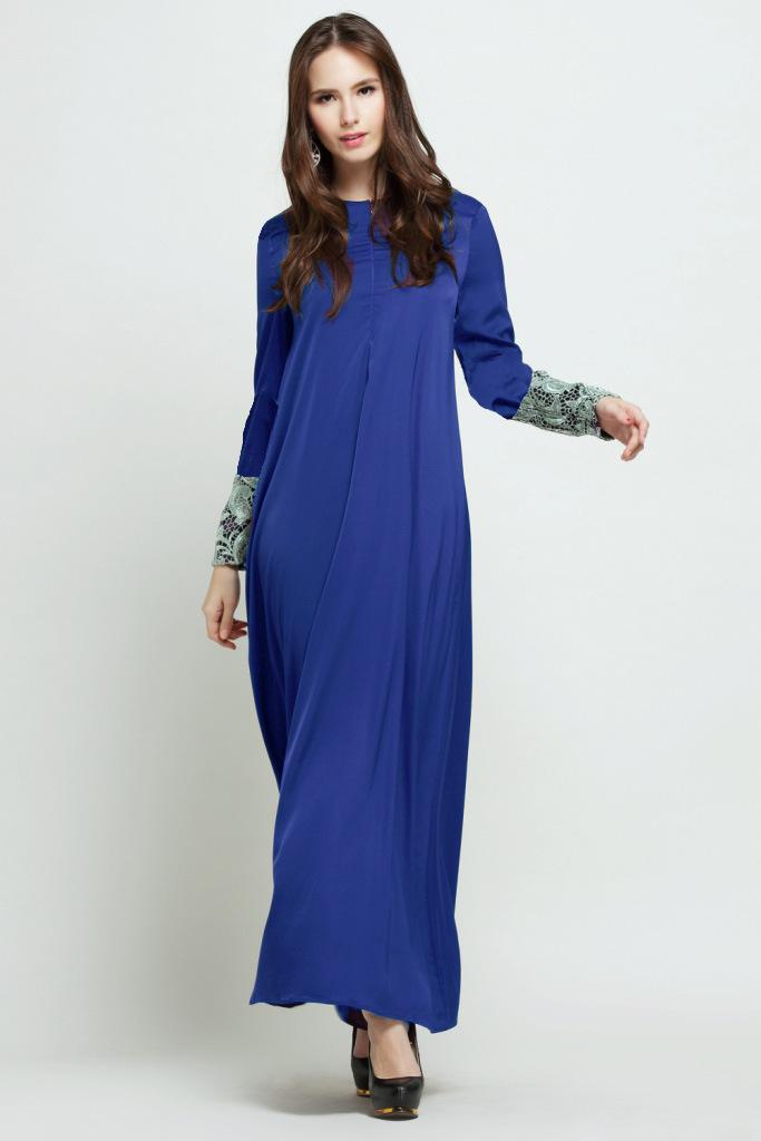 Muslim Malay Suit Elegant Dress One Piece Dress Jumpsuit Dresses ...
