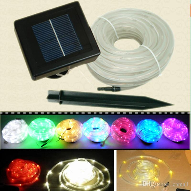 Best solar tube string light 12m 100 led solar powered garden neon best solar tube string light 12m 100 led solar powered garden neon rope light round panel solar lamps solar strings led strips solar strips under 2242 aloadofball Image collections