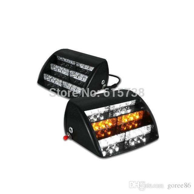 Le stroboscope de secours de LED allume la voiture instantanée pour la couleur verte de 18 LED de tableau de bord de pare-brise