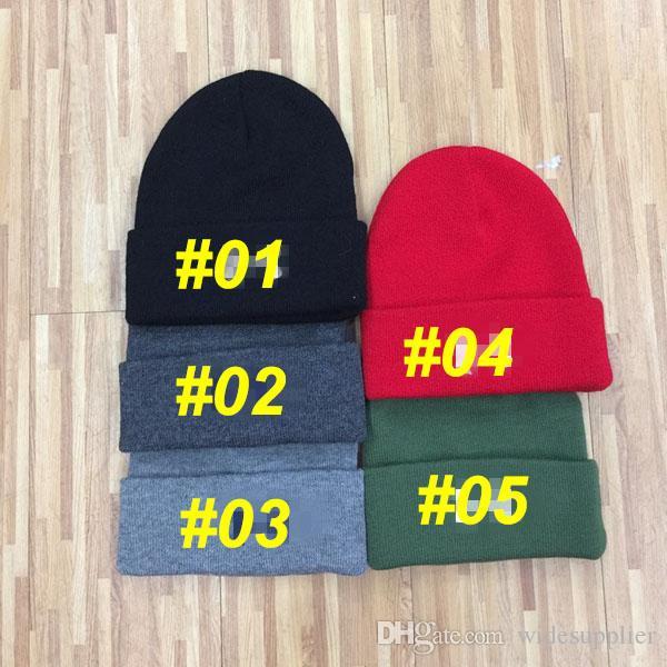 Мода вышивка hat осень и зима теплая вязаная шапка лыжная шапка Cap шерсть cap хип-хоп личность движение хип-хоп вязание cap a+ + +