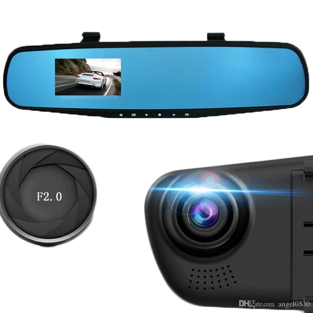 Car-styling Car DVR 2.8'' 1080P HD Dash Cam Video Recorder Rearview Mirror Vehicle DVR Dashcam Tachograph Camera Video Recorder