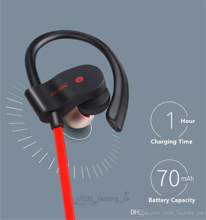 Bluetooth 4.1 Fones de Ouvido Sem Fio Sports Correndo Jogging fone de Ouvido Estéreo Com Cancelamento de Ruído Em Ear Earbuds com Microfone para iOS e Android