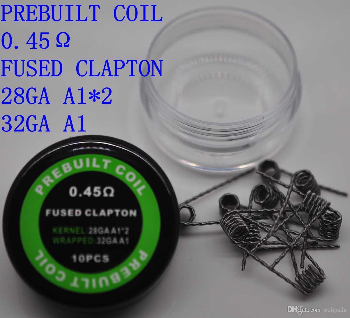 Нагревательные провода Клэптон катушки улей Тигр четырехъядерный витой плоский витой смесь витой плавленый Клэптон иностранец для Vape RDA RBA MOD