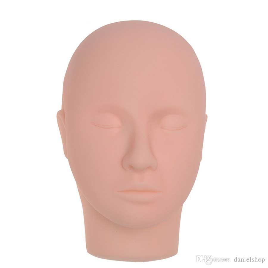 Eğitim Manken Başkanı Masaj Makyaj Kirpik Uzatma Uygulama Modeli Şapkalar Kıllar Gözlük Ekran Vitrin Vitrin için
