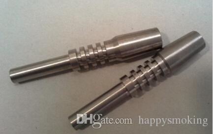 Titanium Nectar Collector Tip 10mm 14mm 19mm Nectar Collector Titanium Nail Glass Bong GR2 Titanium Nail for Dab Straw