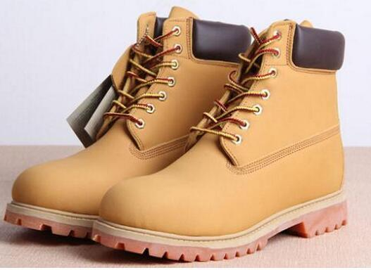 Hot Sale Winter White Snow Boots Brand Men Women Genuine Leather ...