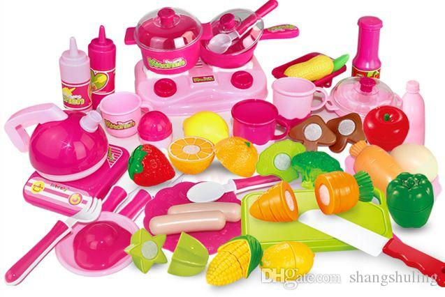 2017 children's play toys set cooking of kitchen toys plastic toy