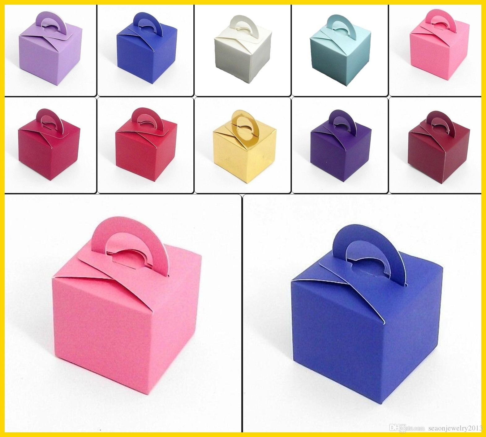 6*6cm Wedding Favor Boxes Wrapping Paper Gift Wrap Bags Birthday ...