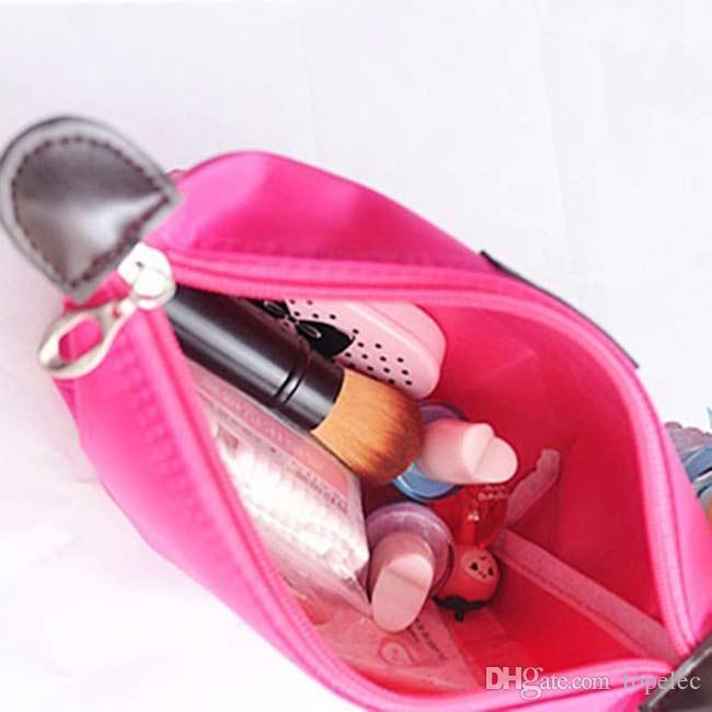 Высокое качество Леди макияж сумка косметический макияж сумка сцепления висит туалетные принадлежности путешествия комплект ювелирных изделий организатор повседневная кошелек бесплатная доставка DHL