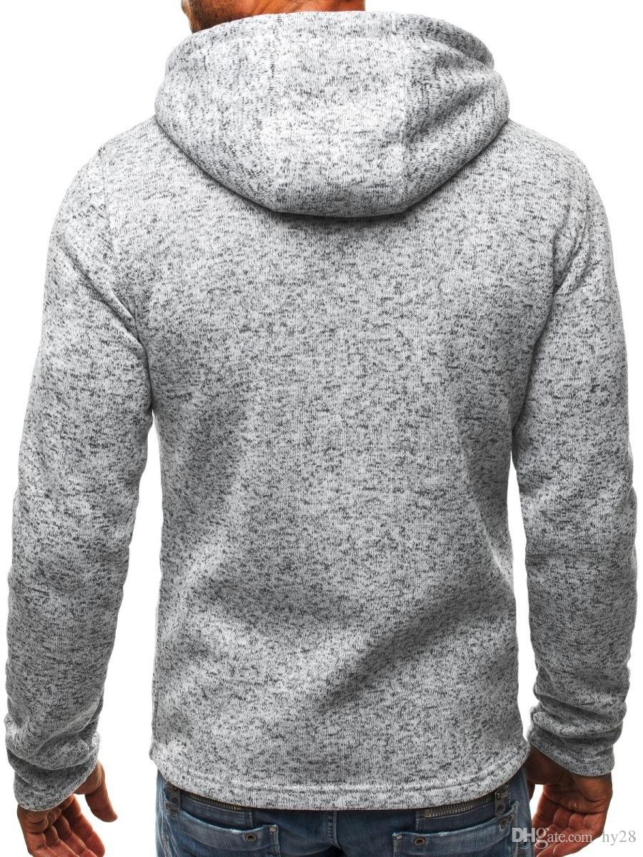 2017 new Hot sale Mens Leisure Hoodies and Sweatshirts autumn winter casual with a hood sport jacket men's hoodies