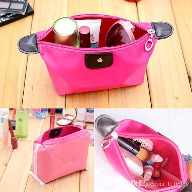Простой макияж сумка мода водонепроницаемый дорожная сумка косметический организатор макияж хранения для женщин бесплатная доставка #6691