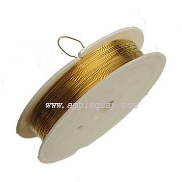 металлическая проволока для изготовления ювелирных изделий браслет ожерелья металлические латунные веревки нить микс набор 0.4 мм новый diy модные ювелирные аксессуары 10 м 10 шт.
