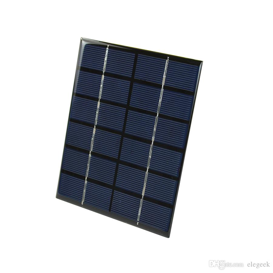 DHL Shipping 100Pcs/Lot 2W 6V Polycrystalline Solar Cell Panel PET Laminated Solar Panel for DIY Solar Project and Experiment