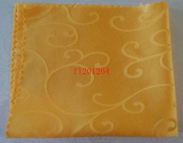 / frete grátis Atacado 48 * 48 centímetros Hotel Guardanapos cálice guardanapos de pano de casamento pano guardanapo guardanapo de cetim
