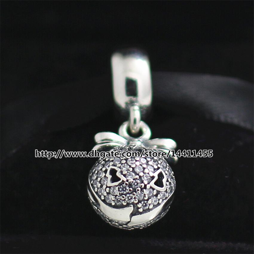 36d2fbfd2 New 925 Sterling Silver 2014 Christmas Wish Dangle Black Friday Charm Bead  With Clear Cz Fits European Pandora Jewelry Bracelets & Necklace Canada  2019 From ...