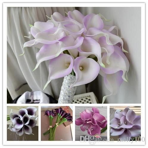 2018 decorative flowers light purple calla lily real touch calla 2018 decorative flowers light purple calla lily real touch calla lily for wedding bundles and home decoration from molly100 654 dhgate junglespirit Images