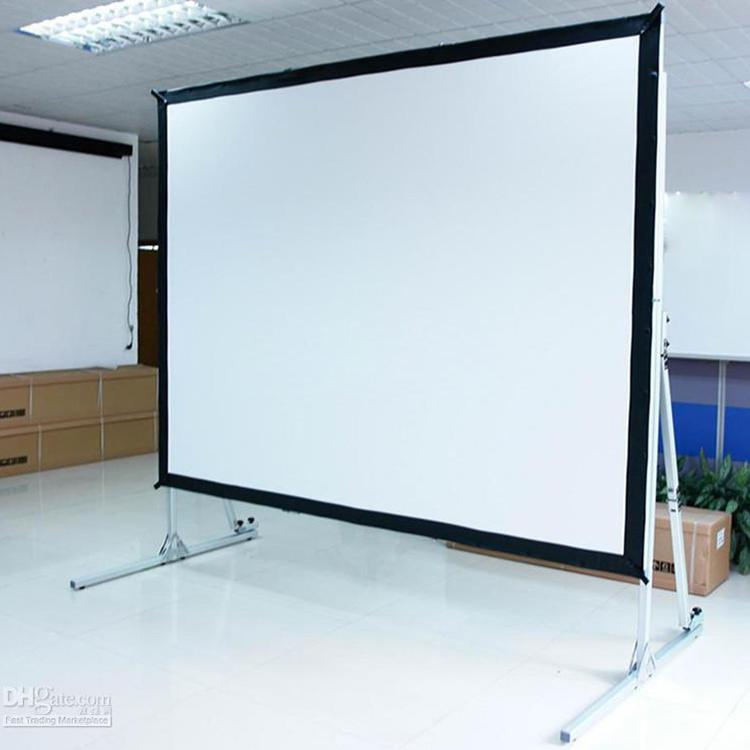 Attractive Cynthia Screen Fast Fold Projector Screens Aluminum Frame Screen Front Or  Rear Fabric Portable Screen Folding Projector Screen Screens Projectors  From ...