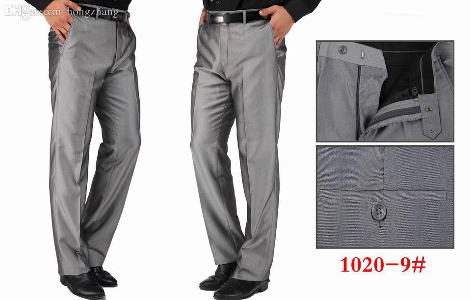 Wholesale New 2015 Top Fashion Men Pants Business Long Trousers For