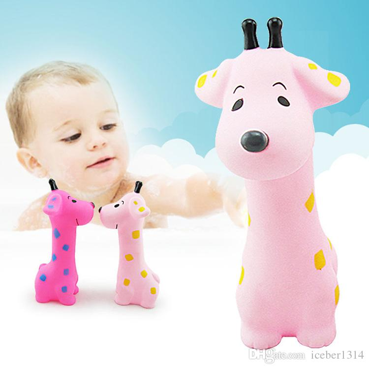 Interesting! Baby\'s Bath Toys Cartoon Souding Animals Bath Toys Kids ...