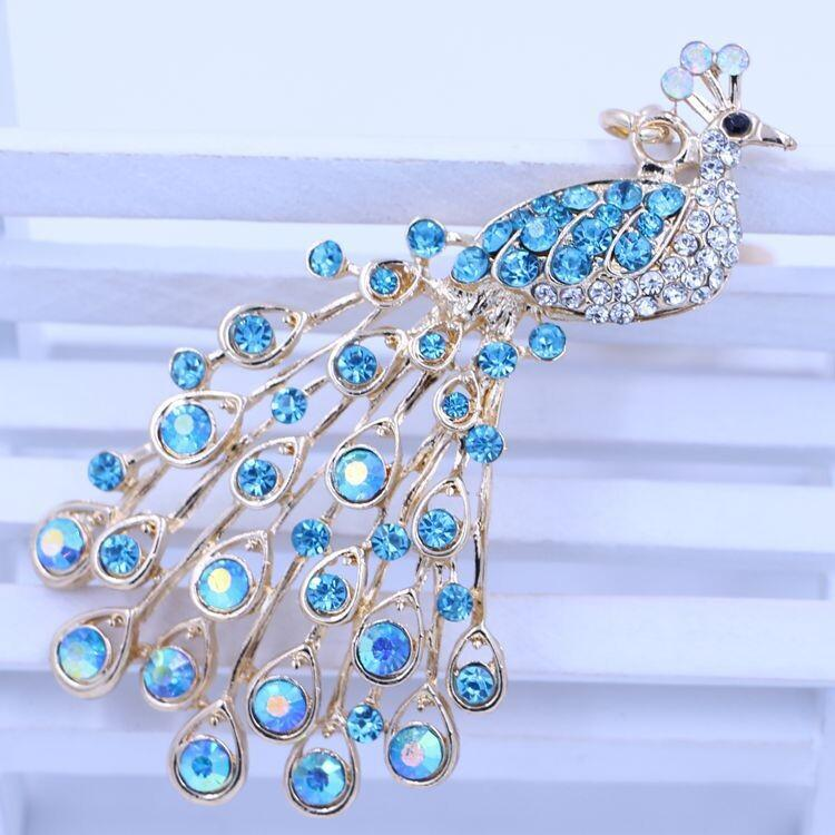 Peacock Key Chain Ring Fashion Rhinestone Animal Metal Keychain Brand  Keyring For Women Bag   Phone Charms Pendant Jewelry JR027 UK 2019 From  Zjunfu804 073e98c7a
