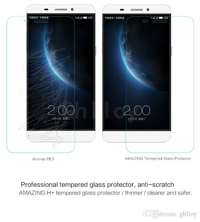 Letv Le1 / Lepro / Max Proteggi schermo in vetro temperato Con confezione al dettaglio 2.5D 0.26MM 9H Antigraffio Antiriflesso Buona qualità