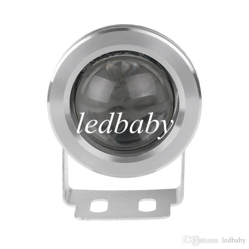 10W étanche IP68 RVB 85-265V LED lumières sous-marines avec télécommande pour la fontaine piscine piscine bateaux de pêche