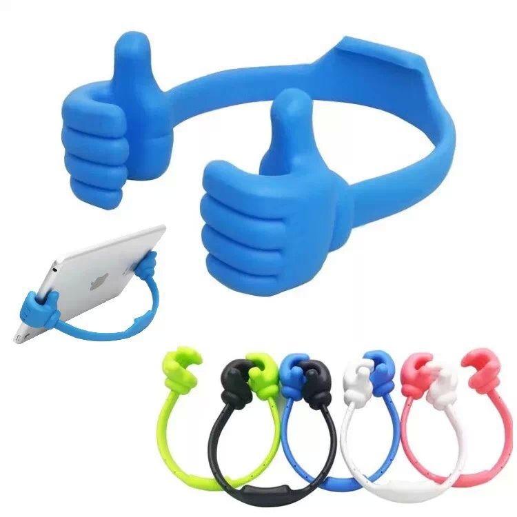 Universal Cell Phone Holder Thumb Design Mini Plastic Ok