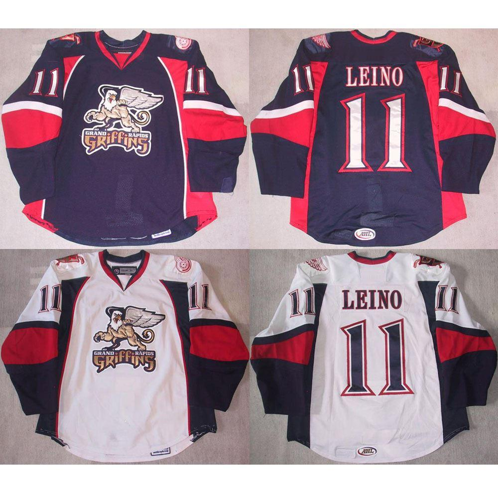 de876d367 2019 Factory Outlet, Customize GRAND RAPIDS GRIFFINS Hockey Jersey Ville  Leino / Toni Dahlman / Valtteri Filppula / Mark Cullen Sew On Any Name &  From ...