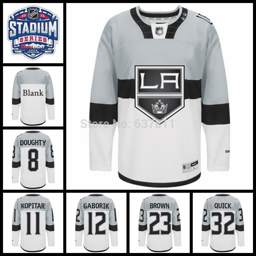 9bcc49ffc ... white away hockey jersey 7c49a 120c6  get good ee7b2 ea30c jersey best  quality 2015 stadium series los angeles kings 8 54577 6e6de