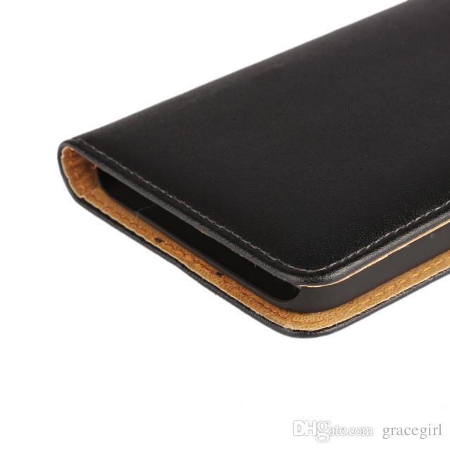 Кожаный чехол из натуральной кожи Кошелек для денег Обычный держатель для карты KickStand ID для Huawei X1 Ascend Honor 7I Mate 7 9 G8 Mini Skin Мобильный телефон