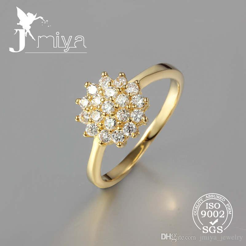 2018 Wonderful Wedding Ring Gold Plated Ring Dubai Style Ring