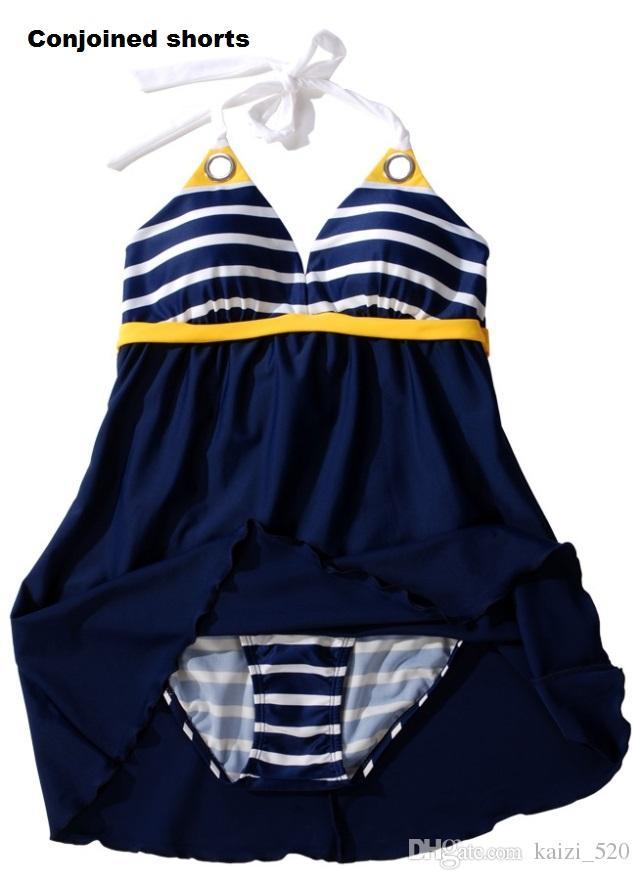 اللوحات البحرية النساء ملابس السباحة قطعة واحدة مع تنورة و زائد الحجم ملابس السباحة مثير بدلة السباحة قطعة واحدة