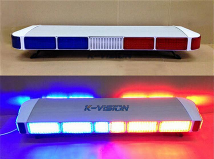Police car emergency warning led lightbar strobe light bar amber see larger image mozeypictures Image collections