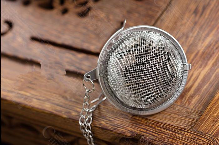 Infusor de tetera de infusión de malla de té de acero inoxidable Tetera llenador de infusión de té de bola 5cm