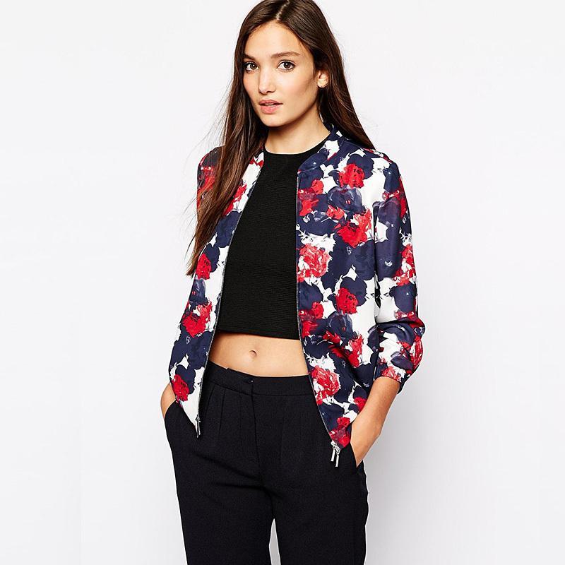 New 2015 Fashion Spring Summer Jackets Women Sheer Chiffon Short ...