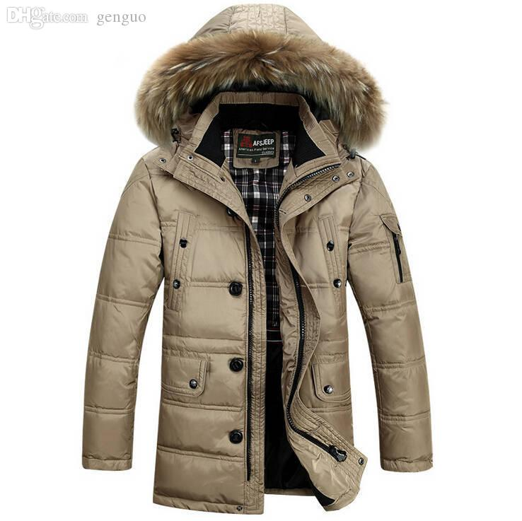 2017 Fall 2015 Hot Sale Winter Coat Men Warm 90% Winter Duck Down ...
