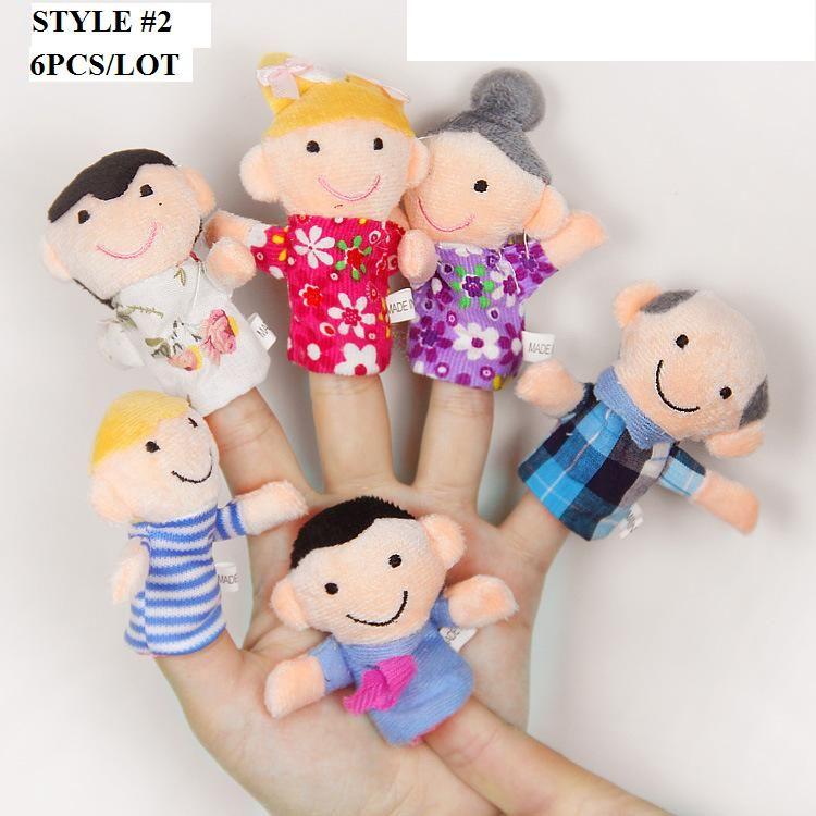Los / Tierfinger-Marionetten-Plüsch spielt die Halloween-Weihnachtspuppen-Geschenke des Geschichte-Stützen-Kindes der Kinder