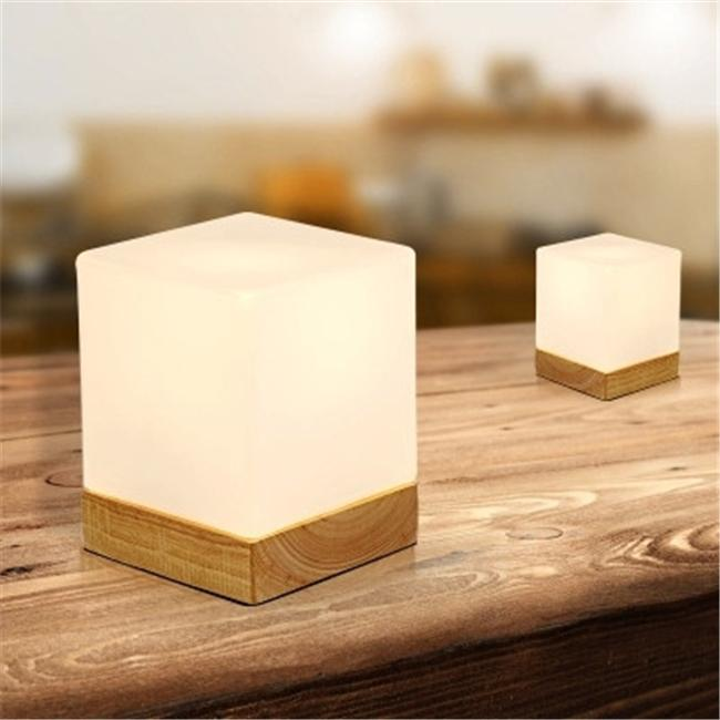 Creative Ice Cube Small Table Lamp Bedroom Bedside European Style ...