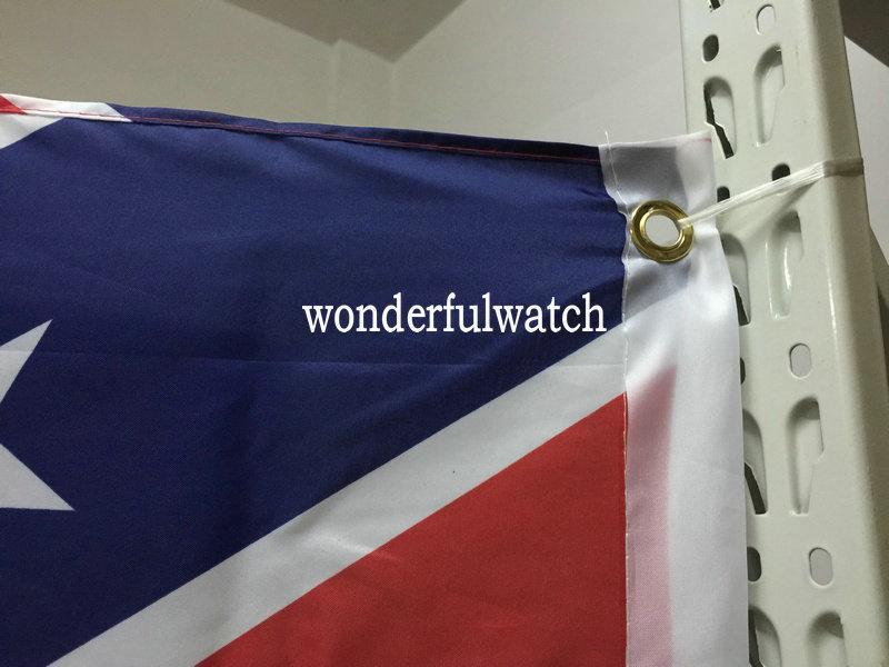 Заводская цена двух сторон напечатанный флаг Конфедерация повстанцев Гражданская война Флаг национальный полиэстер Флаг 3 * 5 футов 100 шт.