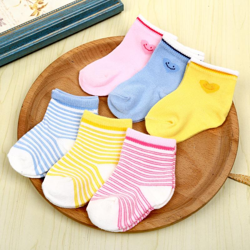 Dhl Shipping Stripe Socks Baby Newborn Love Anti Skid Socks