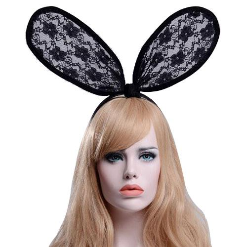 Großhandel Nette Mädchen Kaninchen Ohr Spitze Haarbänder Scherzt ...