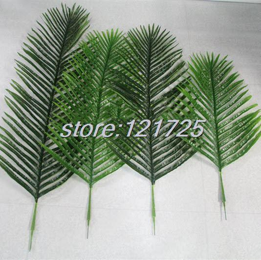 Discount Diy Artificial Palm Tree Plant Leaf Branches Fake