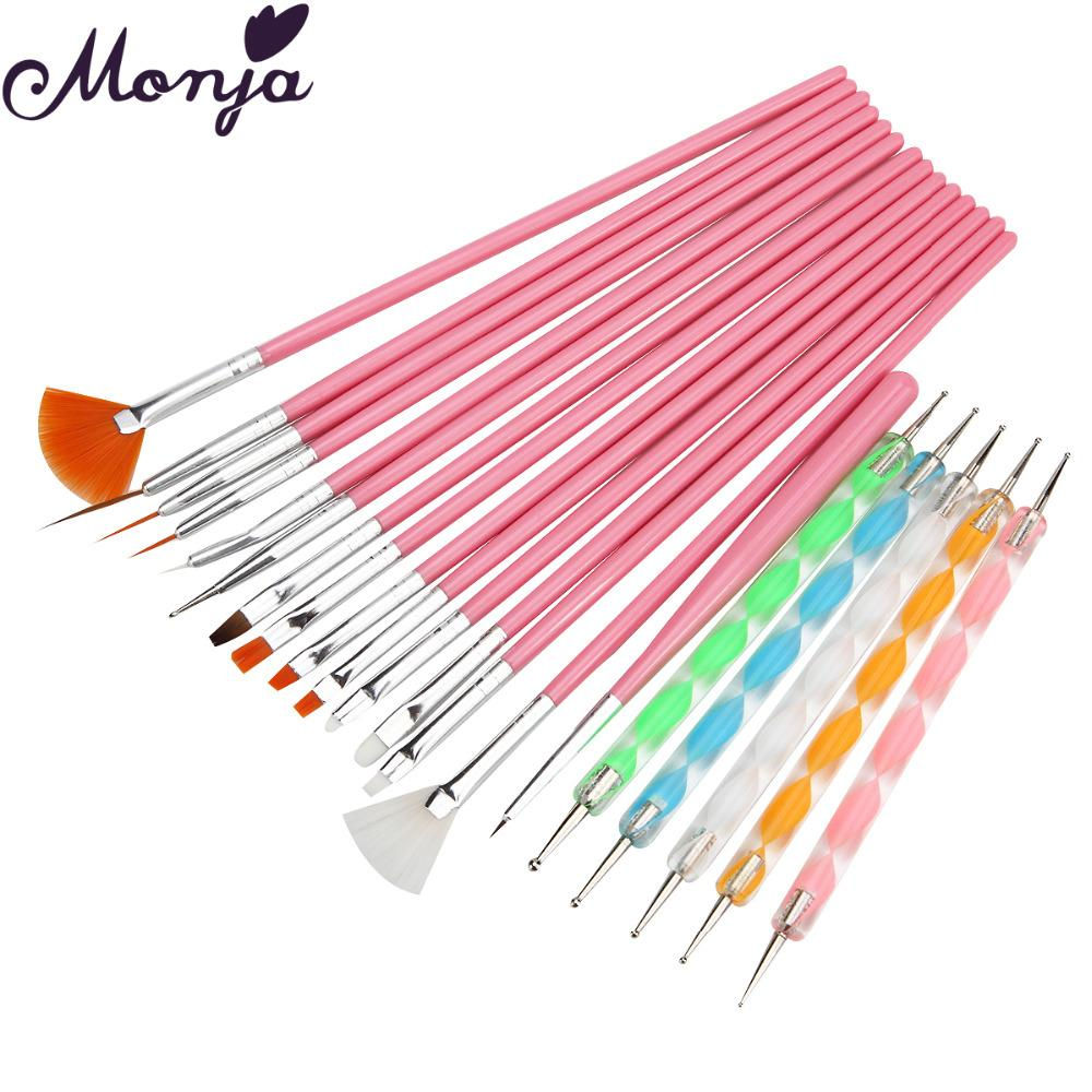 Wholesale Nail Art Pen Brushes Dotting Painting Drawing Line Flower ...