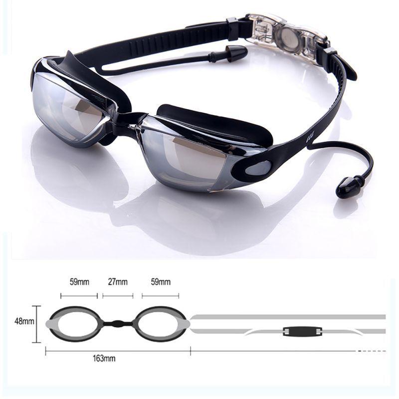 Apparel Accessories Men Women Glasses Eyewear With Ear Plug Anti Fogging Fashion Goggles Cool Adjustable Ultra Clear Safe Waterproof Adult