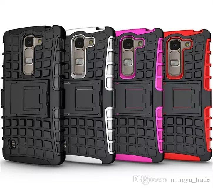 the best attitude 4458f 0d99d LG mobile phone LG spirit phone shell TPU PC 2in 1 rubber Armor Defender  Hybrid Heavy Duty phone case, Free shipping