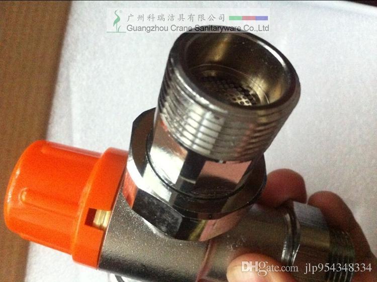サーモスタットバルブ/温水ミキサー/配管部品/バスルーム必要/水温制御器/コールドホット水調整器