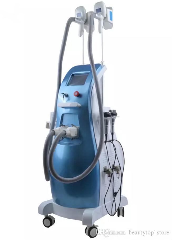 2017 mais novo !! 5 em 1 crio corpo da máquina lipólise gordura congelamento ultra-som cavitação rf emagrecimento equipamento de perda de peso de laser crio lipo
