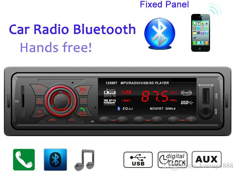 factory supplier new 12v car tuner stereo bluetooth fm. Black Bedroom Furniture Sets. Home Design Ideas