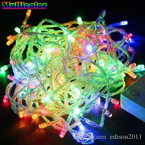 edison2011 the best price 100m led fairy string light lamp christmas wedding xmas party decor outdoor free dhl clear globe string lights string bulb lights