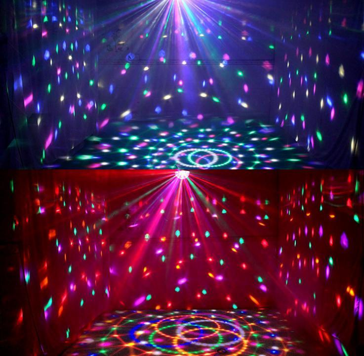 Dj Club Disco Ktv Party Bar Rgb Crystal Led Ball Projector